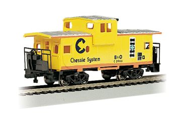 Chessie - Yellow - 36' Wide-Vision Caboose (HO Scale)