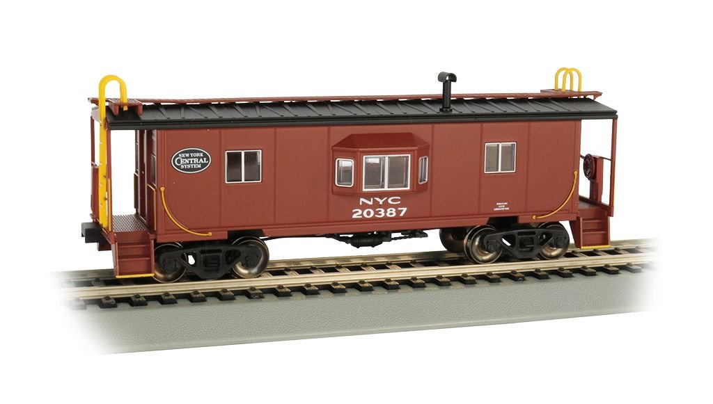 NYC - Bay Window w/ Roof Walk Caboose (HO Scale)