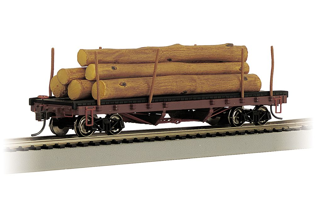 ACF 40' Log Car - 1935-1960 Version (HO Scale)