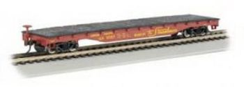 Union Pacific  - 52' Flat Car (HO Scale)