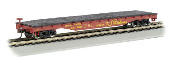 Union Pacific #59486 - 52' Flat Car (HO Scale)