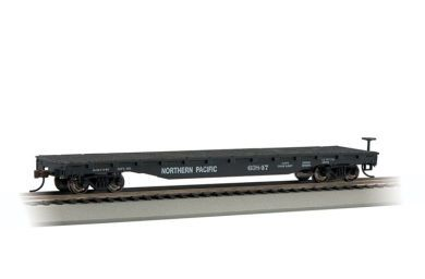 Northern Pacific - 52' Flat Car (HO Scale)