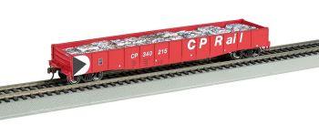 "CP Rail - 50'6"" Drop End Gondola w/ Crushed Cars Load"