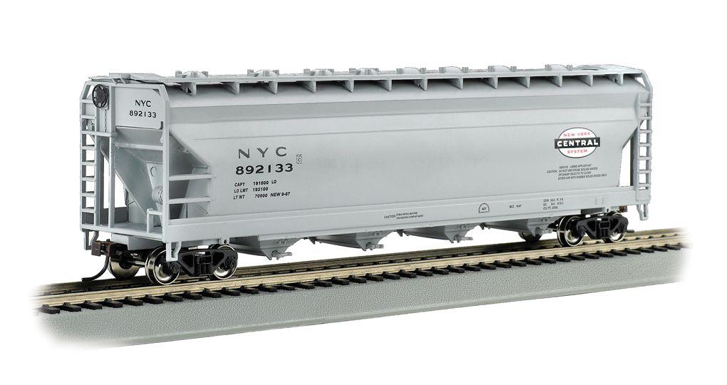 New York Central - Gray - 56' ACF Center-Flow Hopper