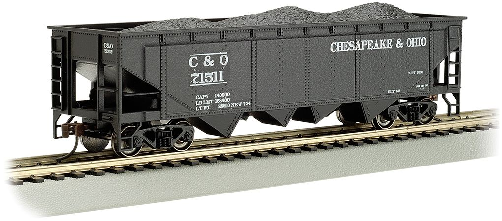 Chesapeake & Ohio® #71511 - 40' Quad Hopper