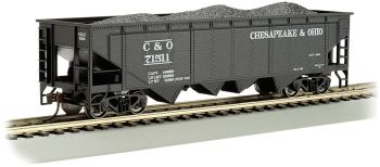 Chesapeake & Ohio #71511 - 40' Quad Hopper