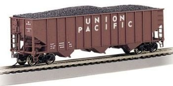 Union Pacific #36255 - Beth Steel 100 Ton 3 Bay Hopper