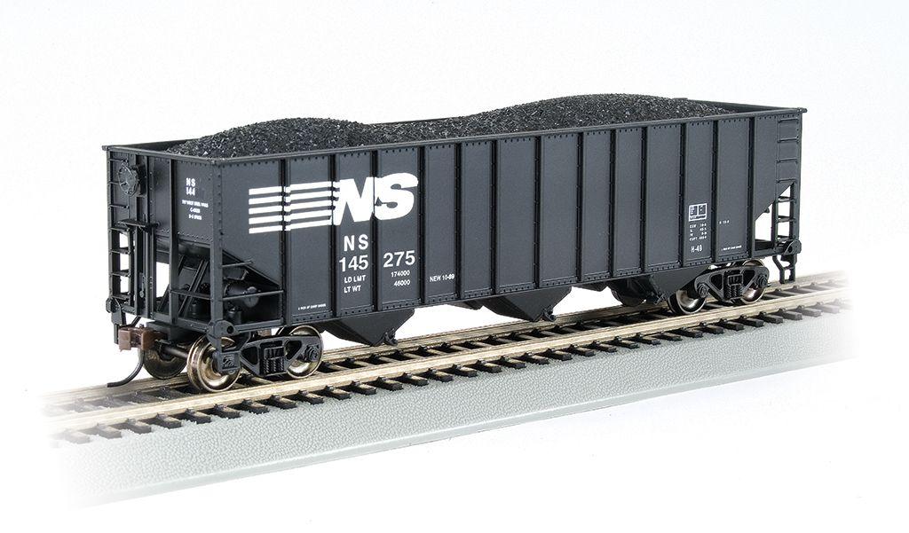 Norfolk Southern #145275 - Beth Steel 100 Ton 3 Bay Hopper