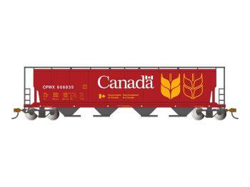Canada Grain - Cylindrical Grain Hopper w/FRED
