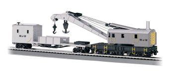 Maintenance of Way - 250-Ton Steam Crane & Boom Tender(HO Scale)
