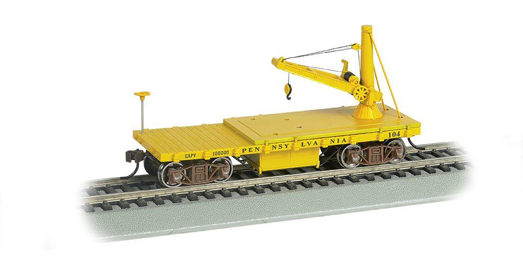 Pennsylvania Lines - Derrick Car