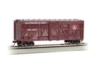 Baltimore & Ohio?? - 40' Stock Car (HO Scale)