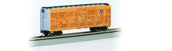Union Pacific #47750- 40' Stock Car (HO Scale)