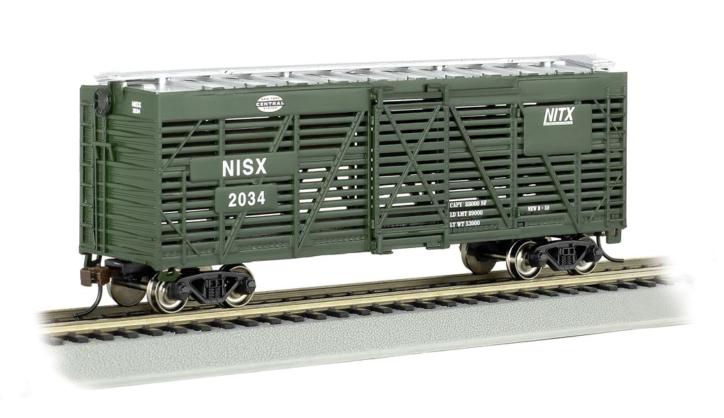 New York Central - 40' Stock Car (HO Scale)
