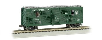 Southern - 40ft Animated Stock Car w/ horses (HO Scale)