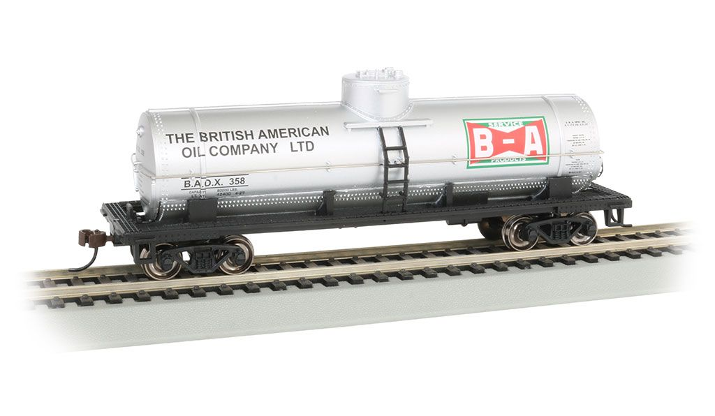 British American Oil - 40' Single-Dome Tank Car (HO Scale)