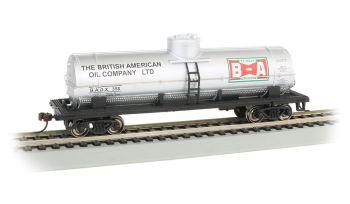 British American Oil - 40' Single-Dome Tank Car (HO Scale)