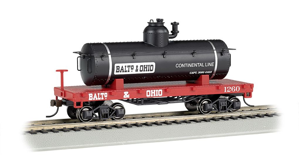Baltimore & Ohio® - Old-Time Tank Car (HO Scale)