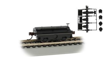 Painted, Unlettered (Black) - Test Weight Car