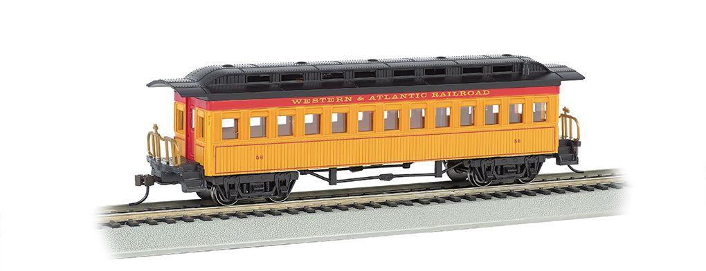 Coach (1860-80 era) - Western & Atlantic Railroad (HO Scale)