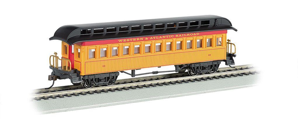 Coach (1860-80 era) - Western & Atlantic RR (HO)
