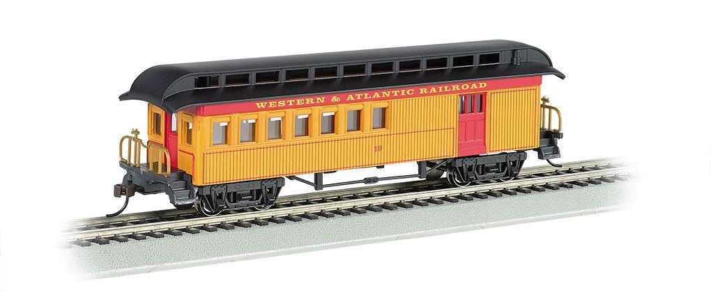 Combine (1860-80 era) - Western & Atlantic RR (HO)