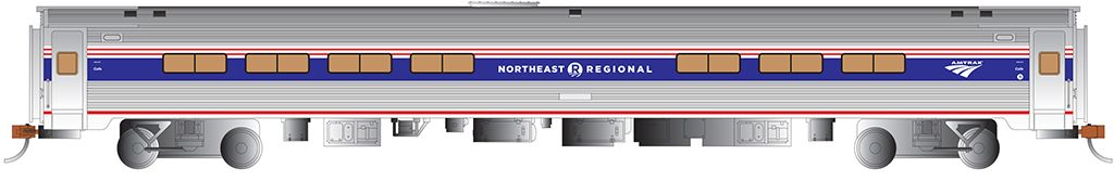 Amfleet® I Cafe Car - NE Regional™ Phase VI #43378