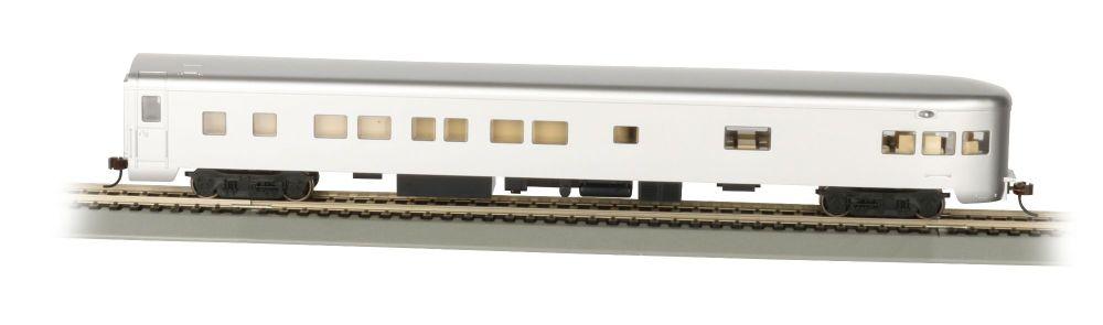 Unlettered, Aluminum Smooth-Side Observation w/ Lighted Intr