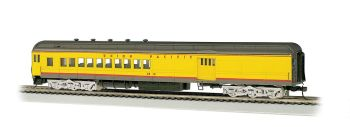 Union Pacific #2512 w/ 4-Window Door (yel/gray) 72' Combine