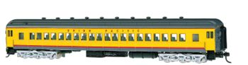 Union Pacific #1115 (yellow/gray/red) 72' Coach