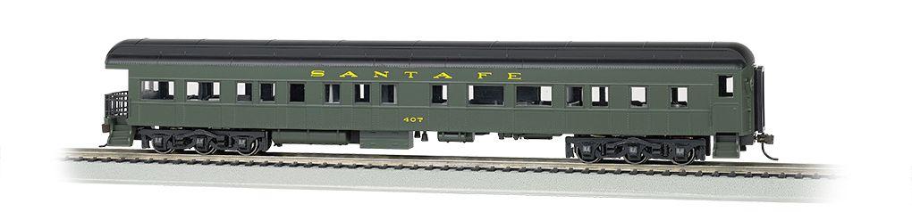 Santa Fe #407 - 72' Heavyweight Observation (HO Scale)