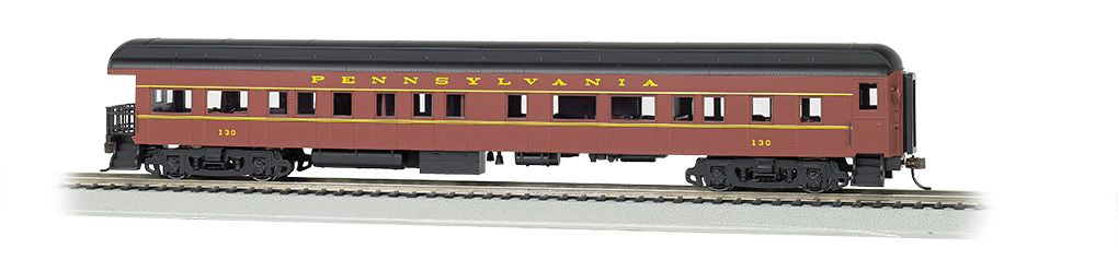 PRR #130 - 72' Heavyweight Observation (HO Scale)