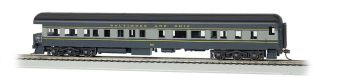 Baltimore & Ohio #130 - 72' Heavyweight Observation (HO Scale)