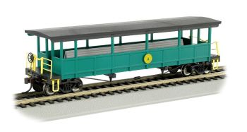 Cass Scenic Railroad - Open-Sided Excursion Car (HO Scale)