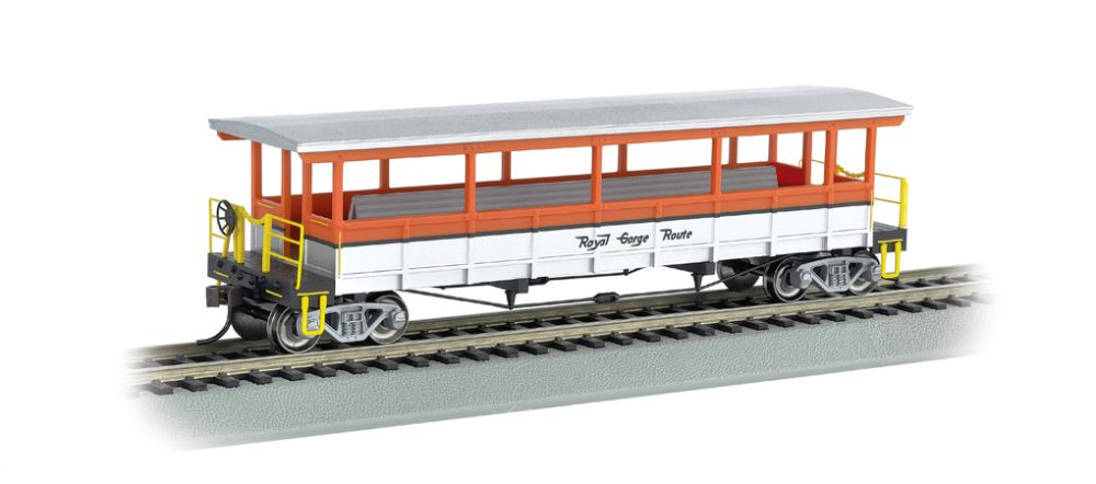 Open-Sided Excursion Car