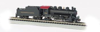 PRR #2765 - Prairie 2-6-2 & Tender (N Scale)