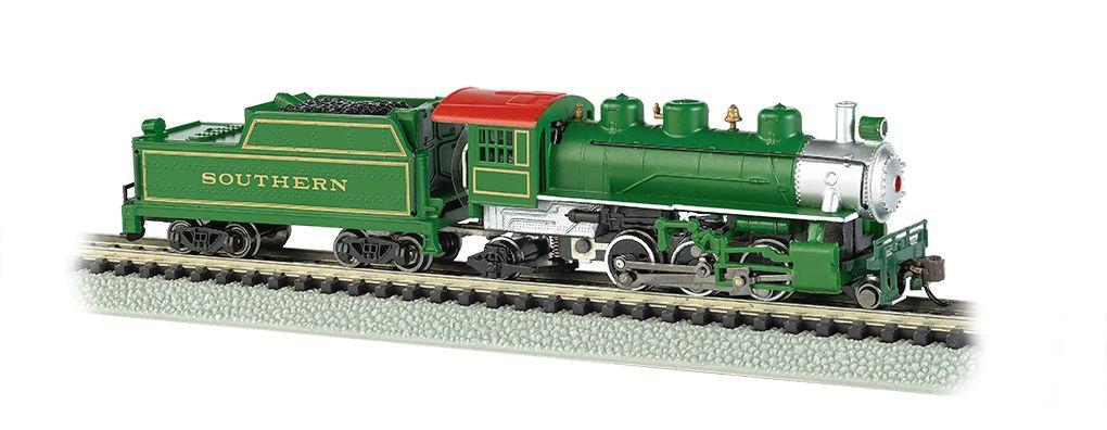 Southern (Green) - Prairie 2-6-2 & Tender (N Scale)