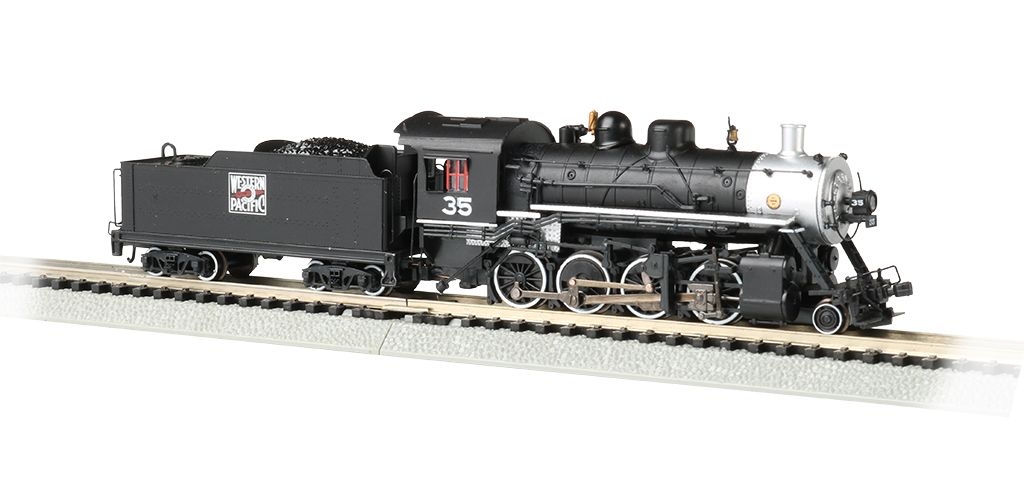 Western Pacific™ #35 - 2-8-0 - DCC Economy Sound Value
