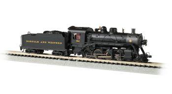 Norfolk & Western #722 - 2-8-0 - DCC Econami Sound Value