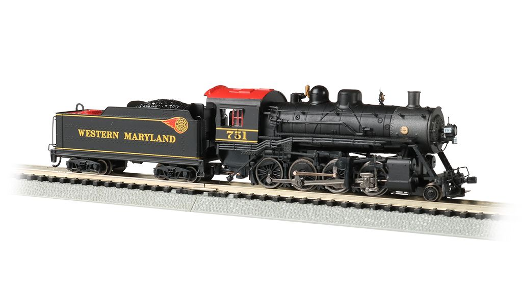Western Maryland® #751 - 2-8-0 - DCC Econami Sound Value