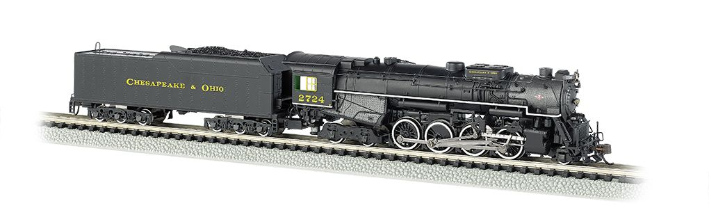 C&O® Kanawha #2724 - DCC Sound Value (N Berkshire 2-8-4)