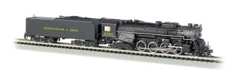 C&O Kanawha #2724 - DCC Sound Value (N Berkshire 2-8-4)