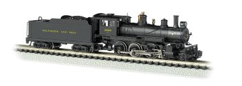 Baltimore & Ohio #2020 - DCC (N Baldwin 4-6-0)