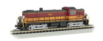 Boston & Maine #1505 - ALCO RS-3 - DCC