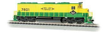 SD45 Diesel RDG #7601 DCC Sound