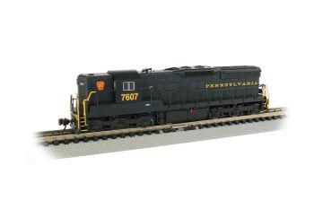 SD9 Diesel PRR #7607/DCC Sound