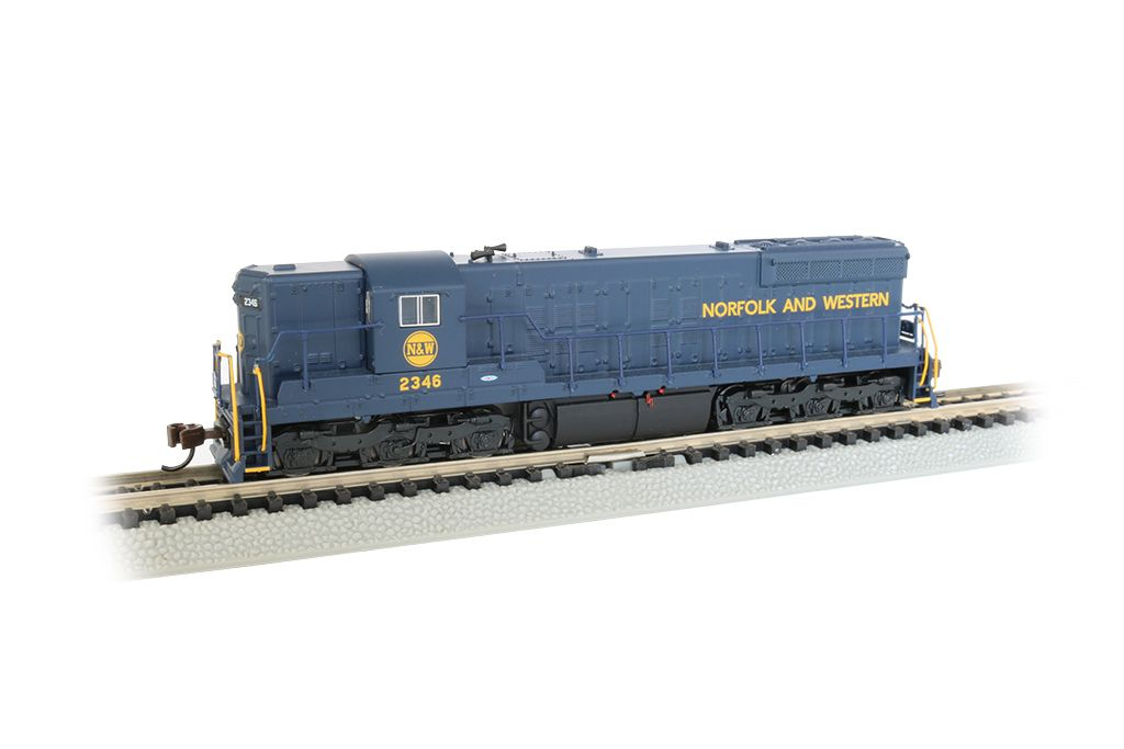 Norfolk & Western #2346 - EMD SD9 - DCC Sound Value - Econami