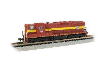 SD9 Diesel DM&IR #116 DCC Sound