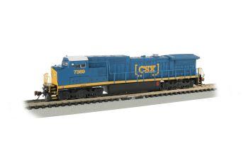 N C40-8W Diesel CSX #7369/DCC Sound