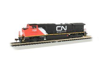 N C40-8W Diesel CN #2162/DCC Sound